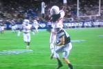 Houston DB Horribly Mistimes Jump