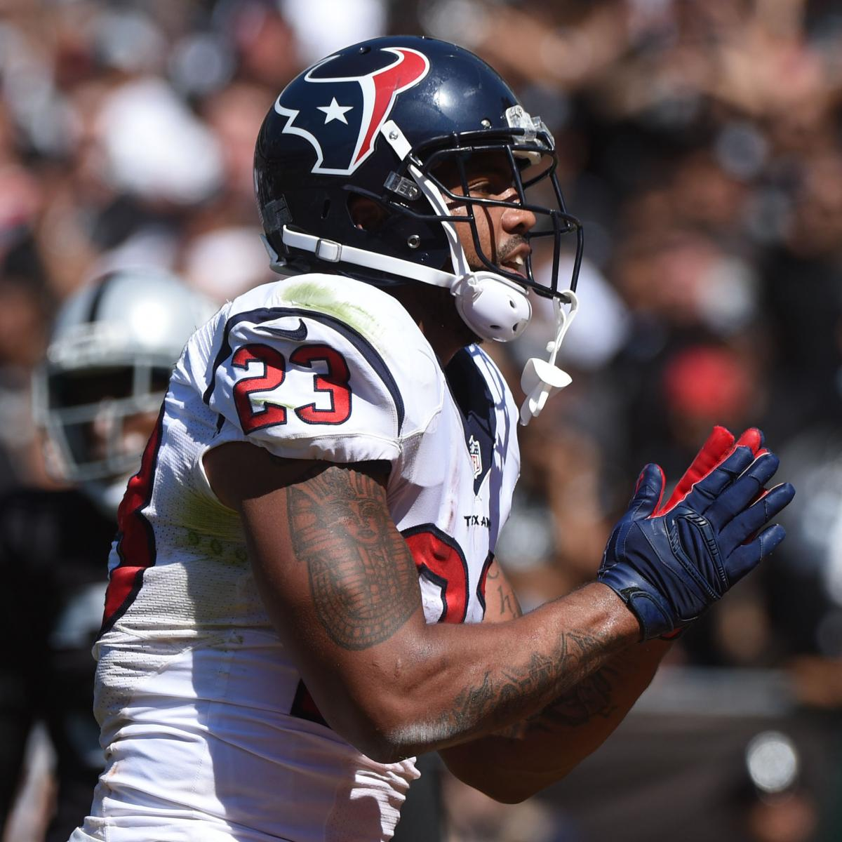 Arian Foster, Alfred Blue's Instant Fantasy Reaction After