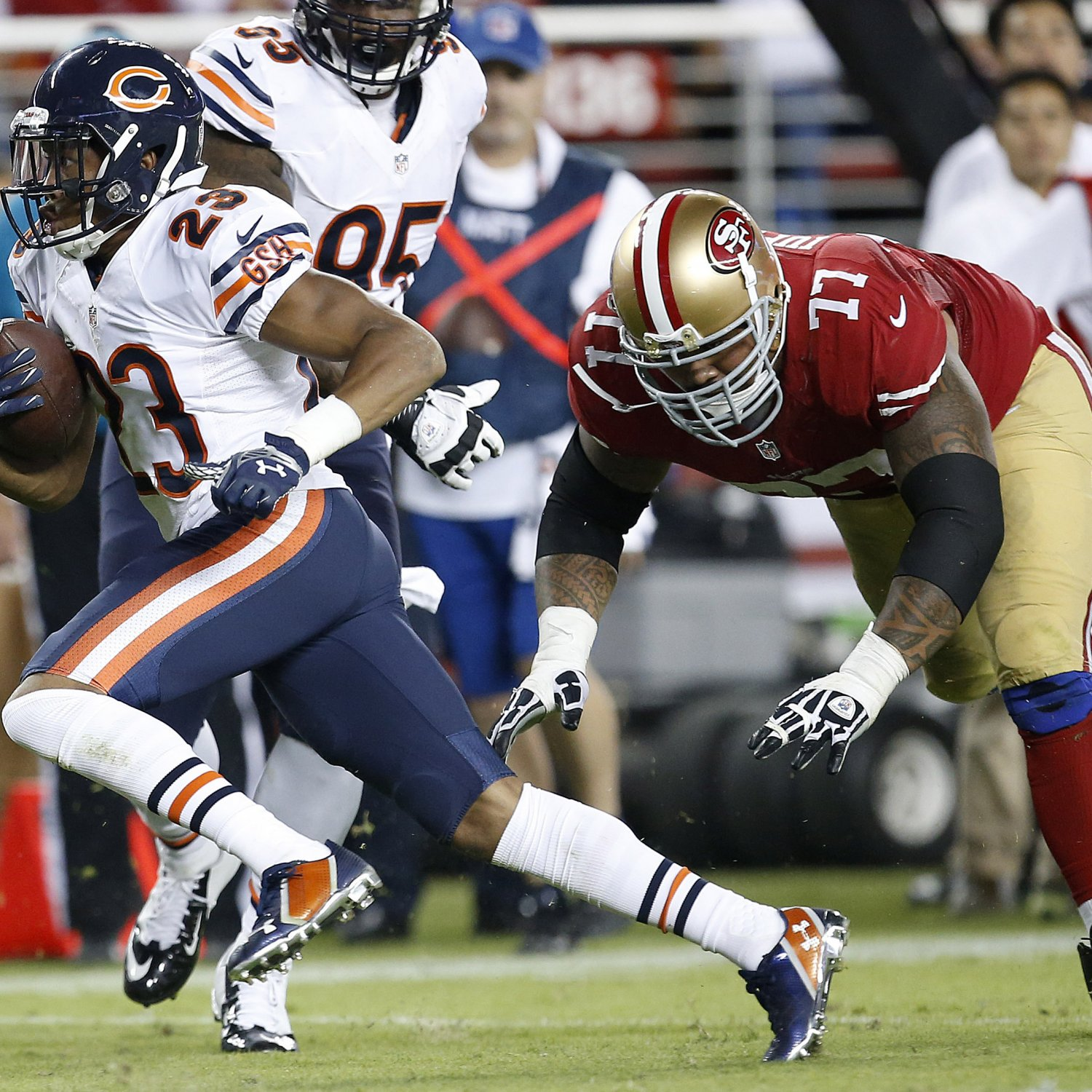 Bears Vs. 49ers: Live Score And Analysis For San Francisco
