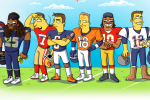 The NFL Gets 'Simpsonized'