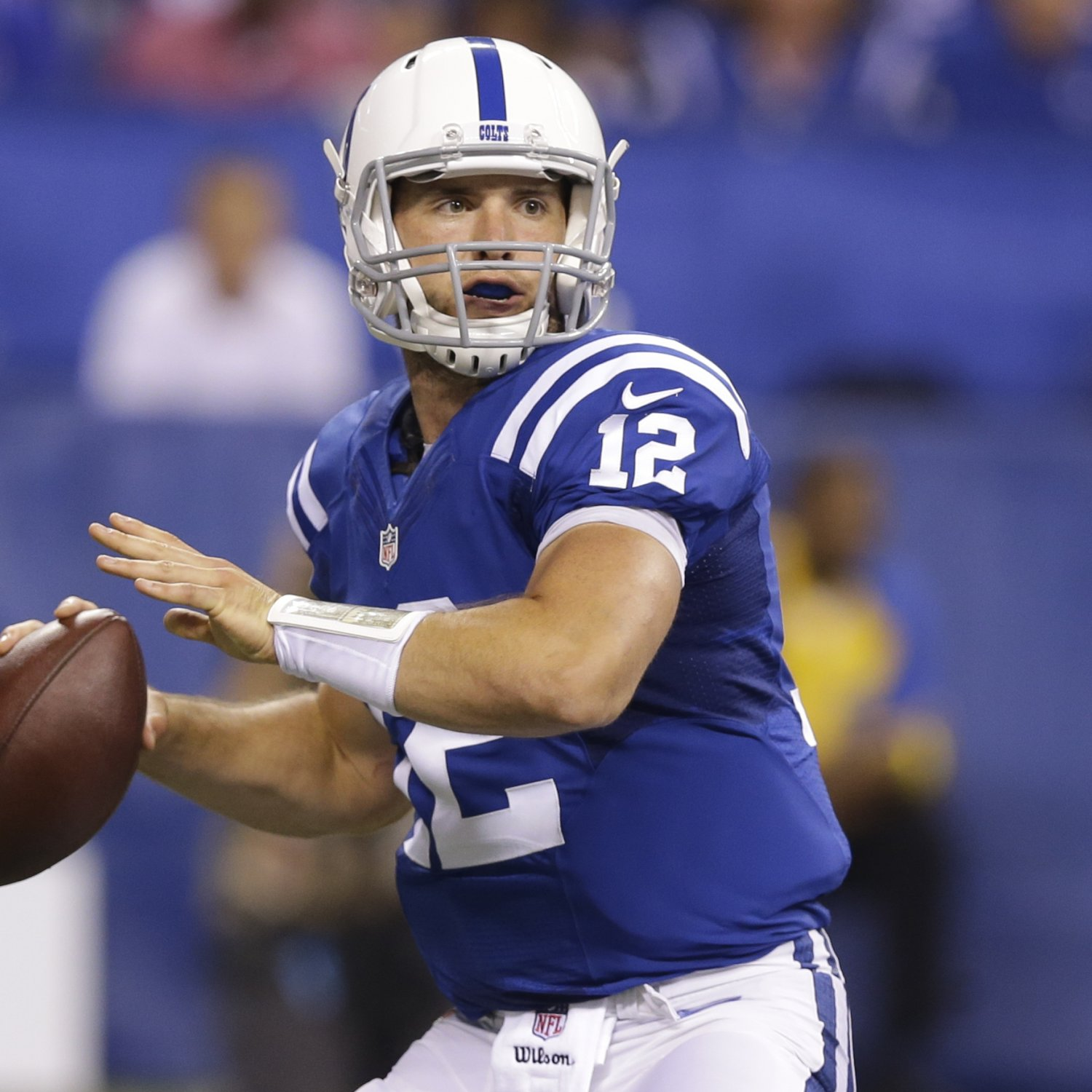 Colts' Andrew Luck Throws 50th Touchdown Pass of Career