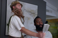 James Harden Keeps His Beard Flawless by Calling a…