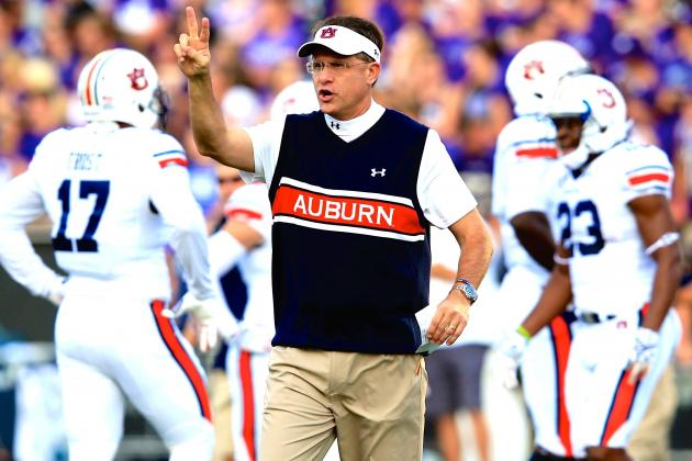 Auburn's Struggle with Kansas State Shows Cracks in the SEC Elite