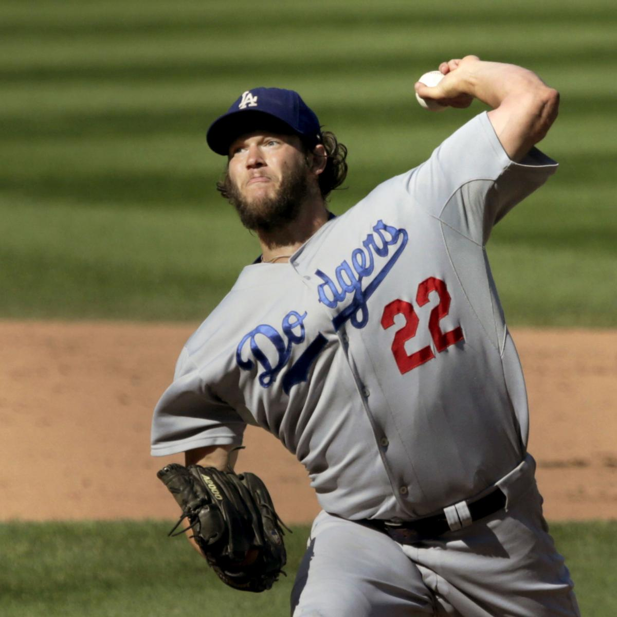 Clayton Kershaw Earns 20th Win with 14-5 Victory over Chicago Cubs | Bleacher Report
