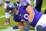 Report: Ravens Fear TE Pitta Suffered Hip Fracture