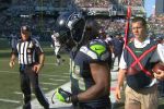 Ouch: Marshawn Gets Dreadlock Ripped Out in Game
