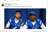 Gators WR Demarcus Robinson Favors QB Change, Acco…