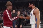 Pharrell's Amazing Hat Is in NBA 2K15
