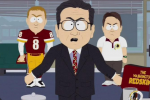 'South Park' Rips the NFL, Washington Redskins