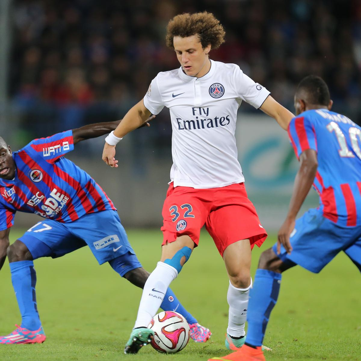Could Moving David Luiz Into Midfield Be PSG's Solution To