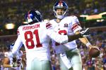 Eli Shines as Giants Rout Redskins 45-14