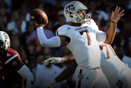 Texas A&M QB Kenny Hill Takes Home CFB's Top Perfo…