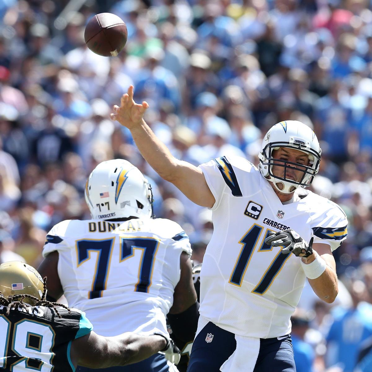 San Diego Chargers Current Score: Jacksonville Jaguars Vs. San Diego Chargers: Live Score