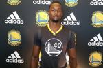 Warriors Unveil New Sleeved Jersey