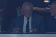 Jerry Jones' Creepy Victory Smile Terrifies the Na…