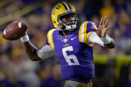 Will LSU's New QB Brandon Harris Answer the Tigers…