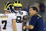 Michigan AD Reveals QB Morris Played with Concussion