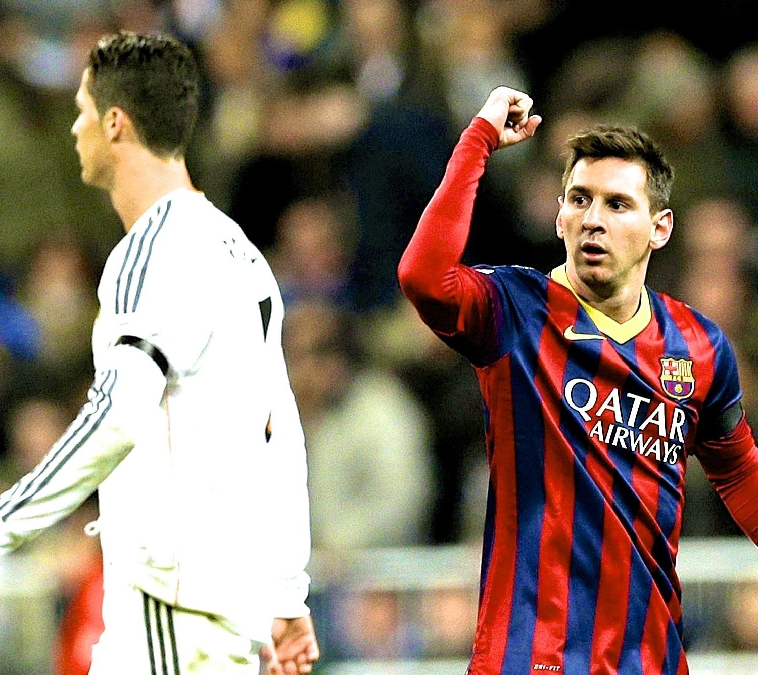 Cristiano Ronaldo I M Not Playing Just Lionel Messi: Balague: Messi, Not Ronaldo, Only Player Worth €150M In