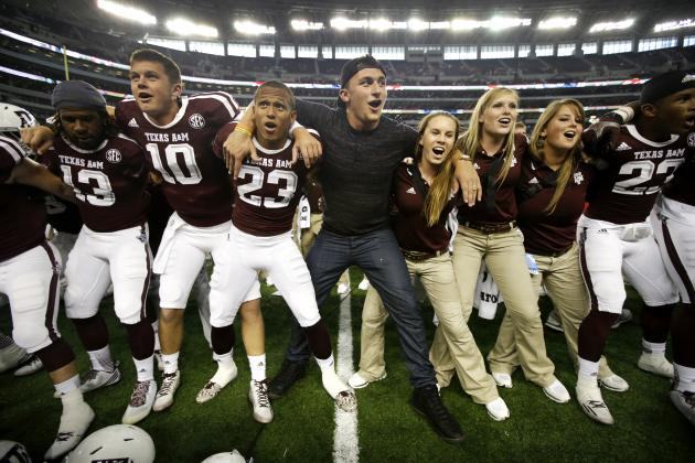 Texas A&M Is a Legitimate Playoff Contender, 'Go All-In' with the Aggies