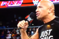 The Rock Surprises Crowd at WWE Raw, Starts 'Derek…