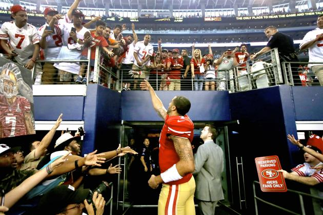 Twitter Reacts as Colin Kaepernick and 49ers Agree to Massive Contract Extension