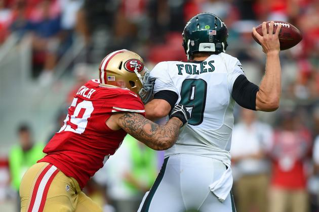 Nike jerseys for sale - San Francisco 49ers: Aaron Lynch Is Outplaying His Draft Status ...