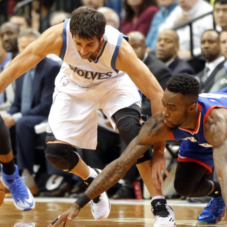 Philadelphia 76ers Vs. Minnesota Timberwolves 10/10/14