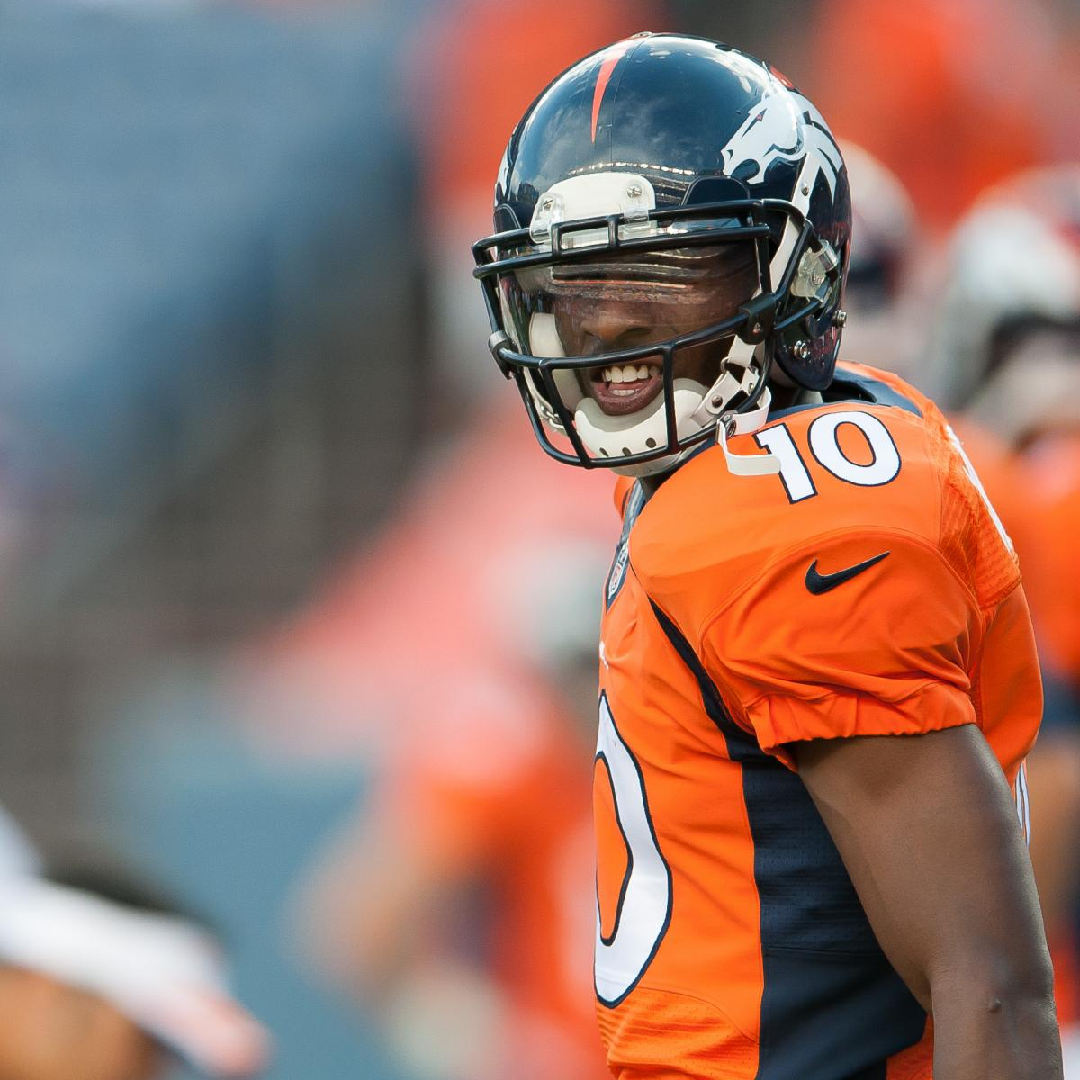 Emmanuel Sanders Injury: Updates On Broncos Star's