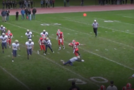 Watch High School RB Hurdle 5 Defenders in 1 Game