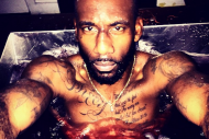Amar'e Stoudemire Posts Picture of Himself Bathing…