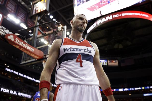 Marcin Gortat Injury: Updates on Wizards Center's Ear, Knee and Return