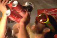 Madison Bumgarner Ups the Ante, Pours 6 Beers Near…