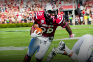 Watch Mike Davis Throw Defender to the Ground with…