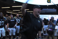 Jaguars' Gus Bradley Gives Fired-Up Postgame Speec…