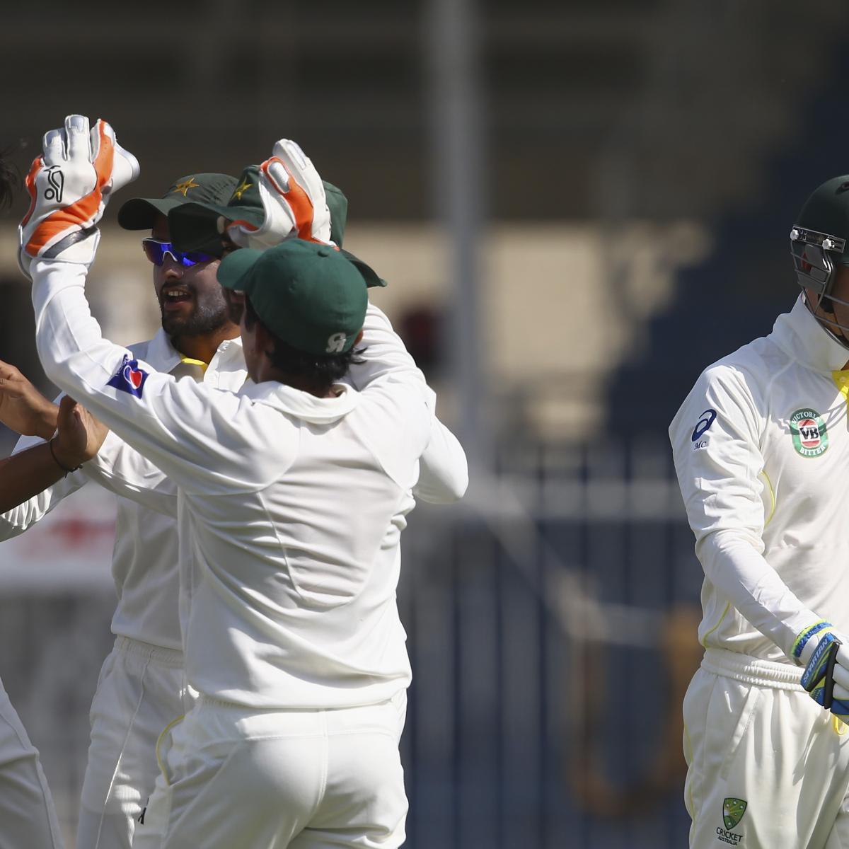 Pakistan Vs. Australia 1st Test: Date, Live Stream, TV
