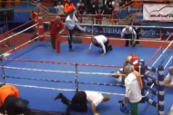 Boxer Brutally Punches Referee Repeatedly After Lo…
