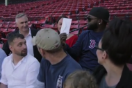 David Ortiz Surprises Military Members with Ticket…