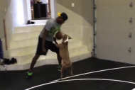 Paul George Shows Mobility in 1-on-1 Game with His…