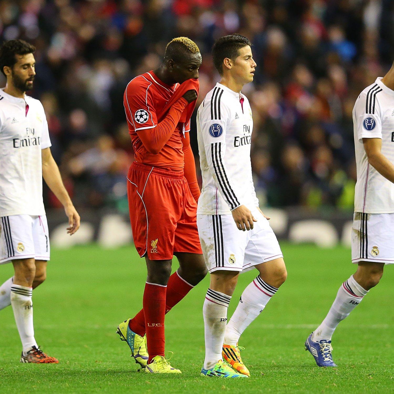 Liverpool 4 0 Borussia Dortmund Match Report Philippe: Liverpool Vs. Real Madrid: Balotelli's Decision-Making