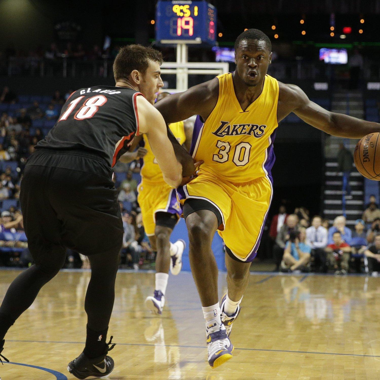 Blazers Vs Lakers: Portland Trail Blazers Vs. Los Angeles Lakers 10/22/14