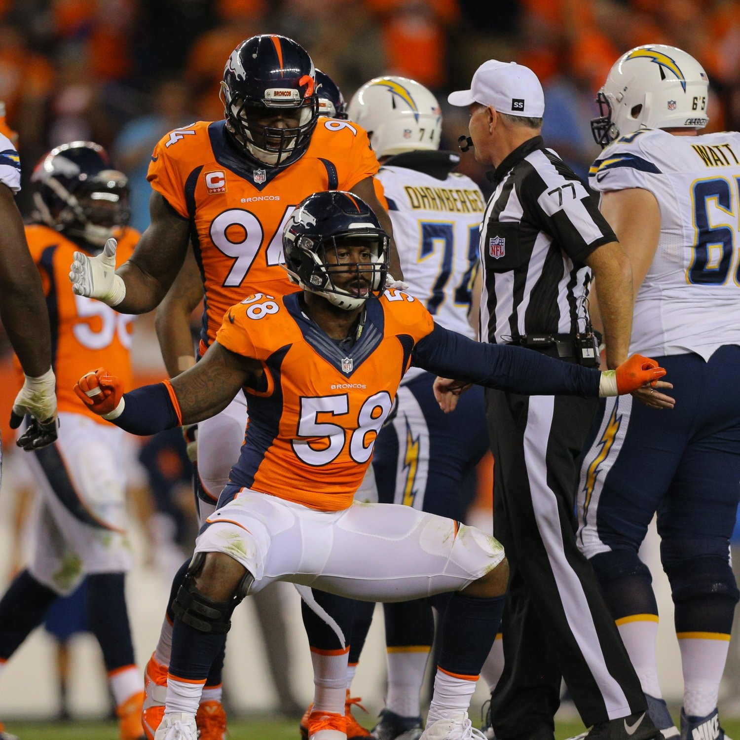 San Diego Chargers Defence: Broncos' Imposing Defense Dominates Chargers, Keeps Denver