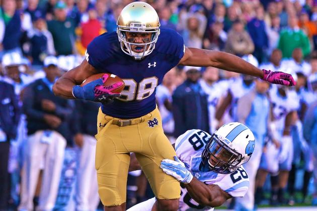 SEC Chaos Ushering Notre Dame Closer to the College Football Playoff