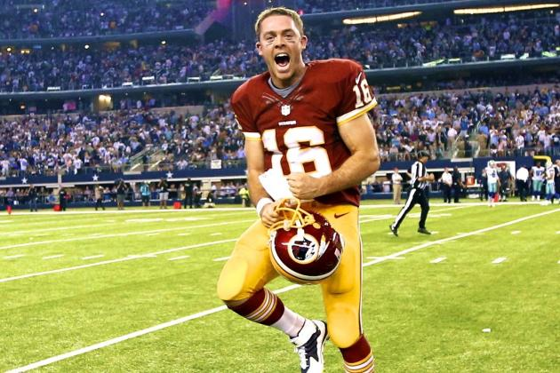 Colt McCoy Giving Washington Exactly What It Needs in RGIII's Absence