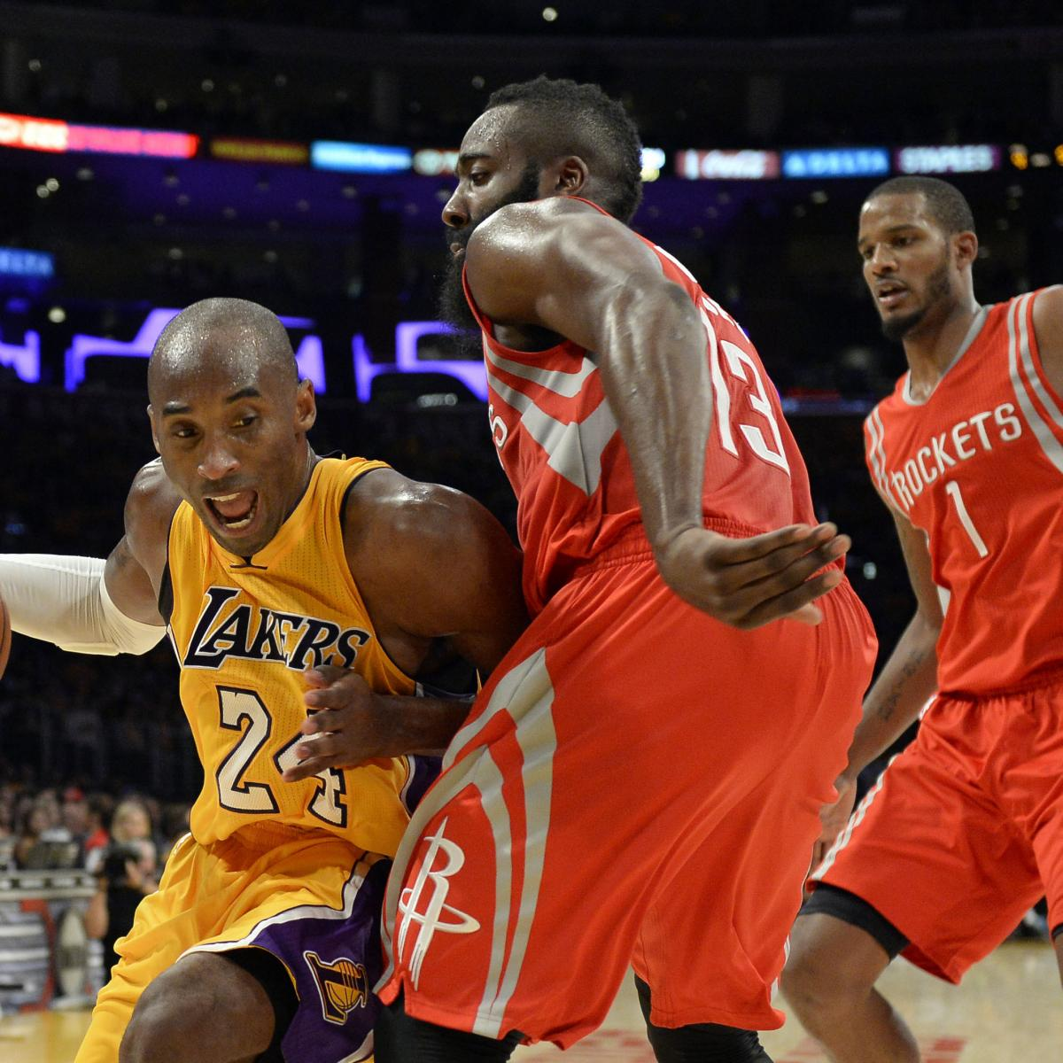 Rockets All Time Roster: Houston Rockets Vs. Los Angeles Lakers: Postgame Grades