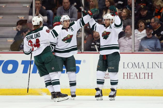 Minnesota Wild's Zach Parise, Mikael Granlund and Jason Pominville Dominate