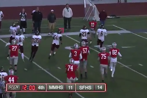 High School Quarterback Forgets Clock Rules, Costs His Team in Play-in Game