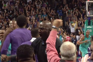Michael Jordan Reacts to Kemba Walker's Overtime-F…