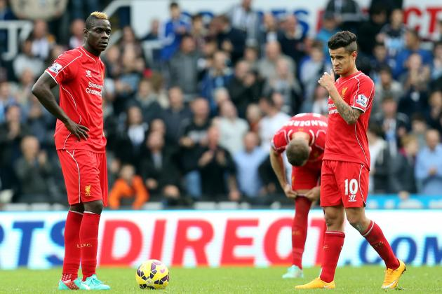 Epl table latest week 10 results scores and 2014 premier league standings bleacher report - Latest epl results and table ...