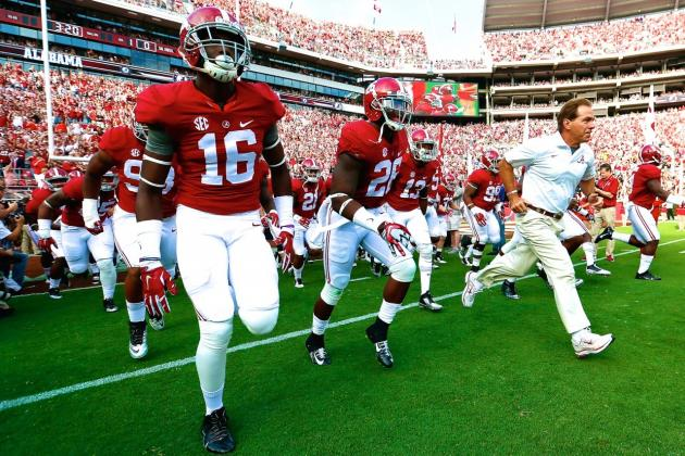 Alabama Back on the Rise as Crimson Tide Roll Toward Death Valley