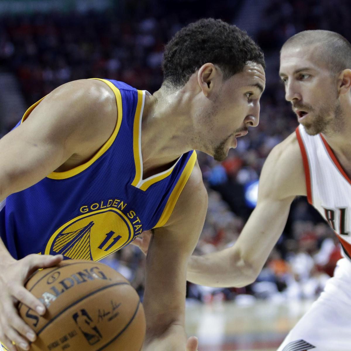 Portland Blazers Schedule: Golden State Warriors Vs Portland Trail Blazers 11/2/14
